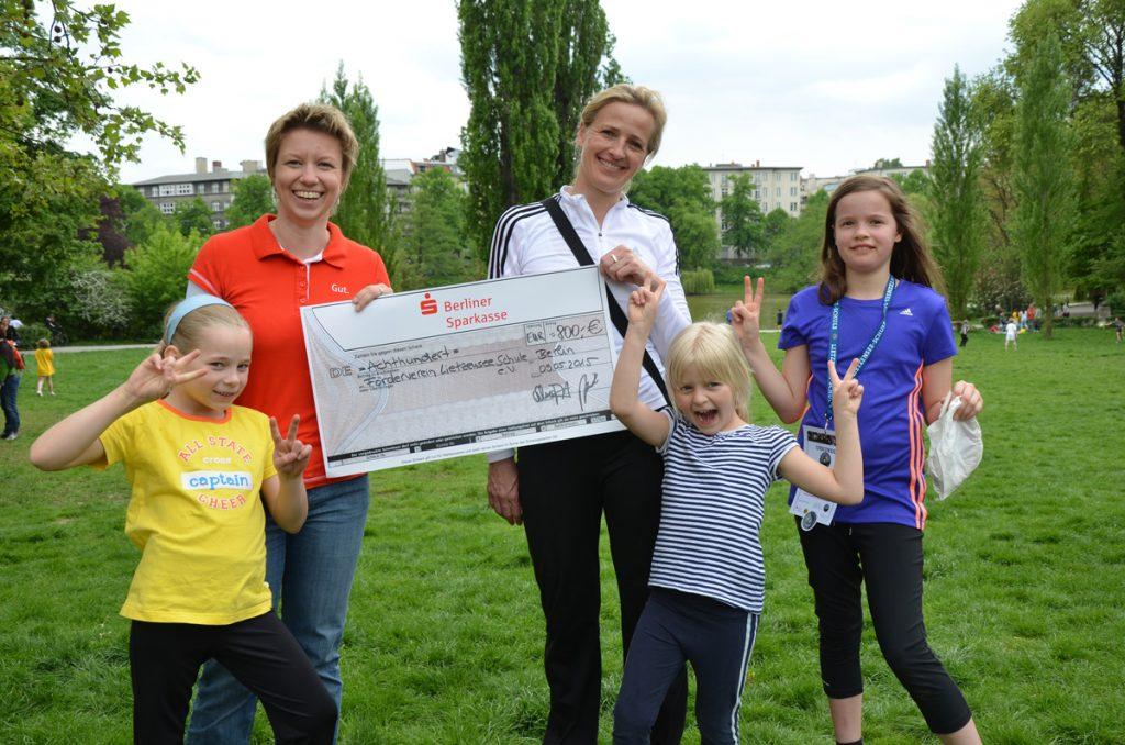 Der Förderverein der Lietzenseeschule stärkt die Gemeinschaft der Schule und unterstützt mit finanziellen Mitteln.